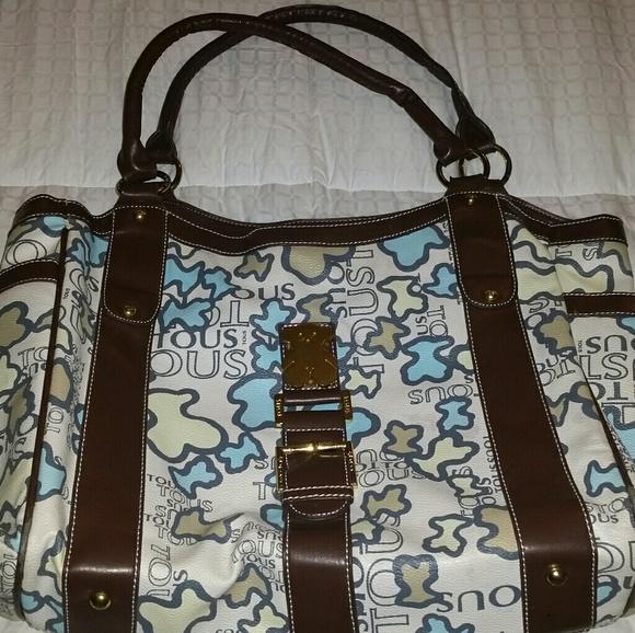 Tous Handbags - Tous Bears Large Rare Handbag Purse Tote